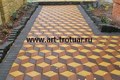 Тротуарная плитка вибролитье - преимущества и большой выбор изделий