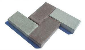 Тротуарная плитка Брусчатка 200x100x30