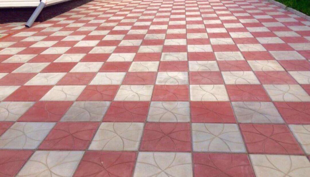 Тротуарная плитка в Можайске от производителя ФОТО