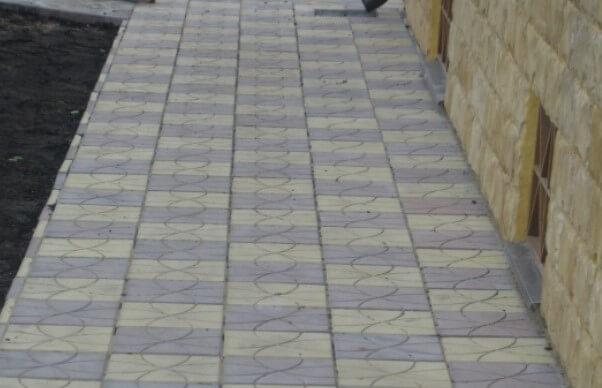 Тротуарная плитка от производителя ФОТО